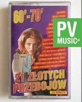21 ZŁOTYCH PRZEBOJÓW RUDY RYDZ, TAKA MAŁA audio cassette