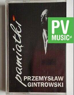 PRZEMYSŁAW GINTROWSKI PAMIĄTKI audio cassette