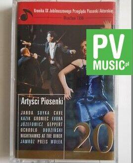 PRZEGLĄD PIOSENKI AKTORSKIEJ JANDA, JÓZEFOWICZ, KAZIK.. audio cassette