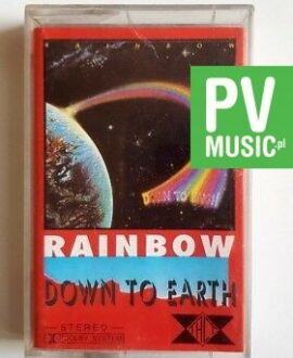 RAINBOW DOWN TO EARTH audio cassette