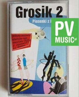 GROSIK 2 PIOSENKI Z LAT 60..MUSICAL BUFFO audio cassette