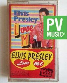 ELVIS PRESLEY LOVE ME audio cassette