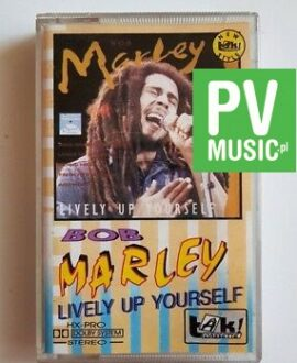 BOB MARLEY LIVELY UP YOURSELF  audio cassette