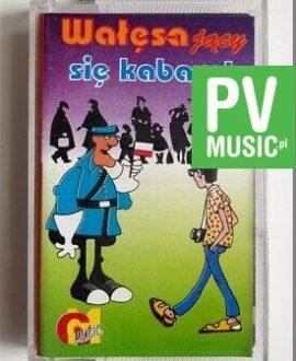 WAŁĘSAJĄCY SIĘ KABARET audio cassette