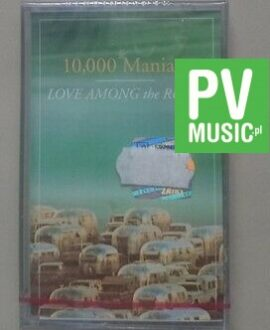10,000 MANIACS LOVE AMONG THE RUINS  NEW IN FOIL audio cassette