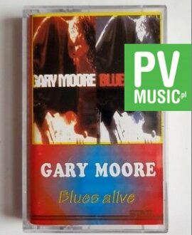 GARY MOORE BLUES ALIVE audio cassette