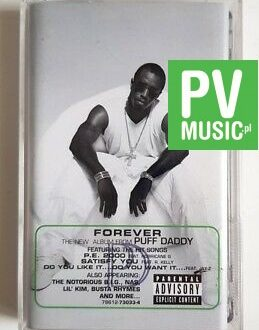 PUFF DADDY FOREVER audio cassette