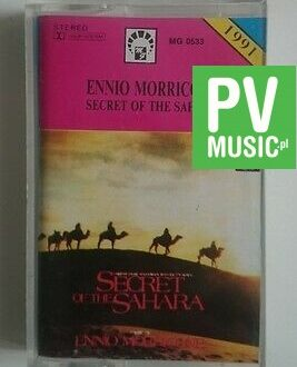 ENNIO MORRICONE SECRET OF THE SAHARA    audio cassette
