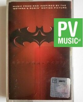 BATMAN & ROBIN SOUNDTRACK audio cassette
