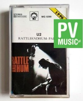 U2 RATTLE AND HUM II audio cassette