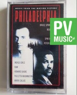 PHILADELPHIA SOUNDTRACK audio cassette