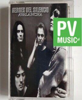 HEROES DEL SILENCIO AVALANCHA audio cassette