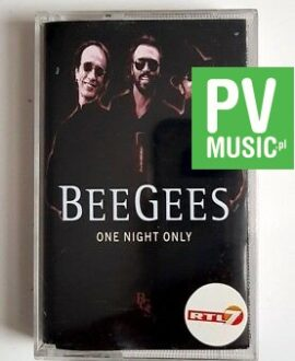 BEE GEES ONE NIGHT ONLY audio cassette