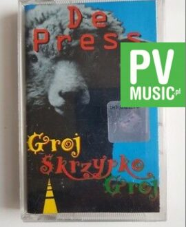 DE PRESS  GROJ SKRZYPKO GROJ audio cassette