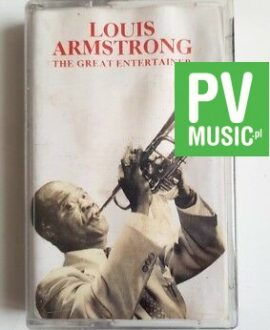 LOUIS ARMSTRONG THE GREAT ENTERTAINER audio cassette