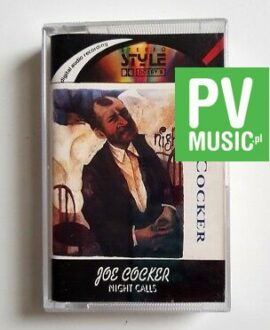 JOE COCKER NIGHT CALLS audio cassette