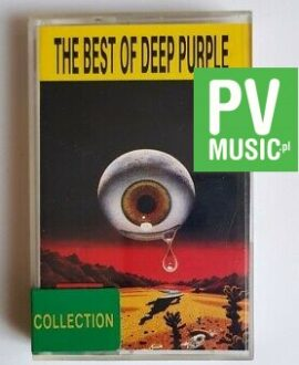 DEEP  PURPLE THE BEST OF audio cassette