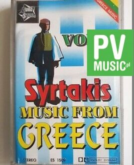 MUSIC FROM GREECE vol.3 audio cassette
