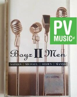 BOYZ II MEN NATHAN MICHAEL SHAWN WANYA audio cassette