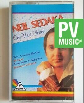 NEIL SEDAKA ONE WAY TICKET audio cassette
