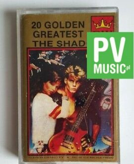 THE SHADOWS 20 GOLDEN GREATEST audio cassette