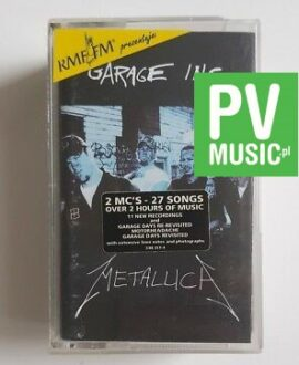 METALLICA GARAGE INC. 2x audio cassettes