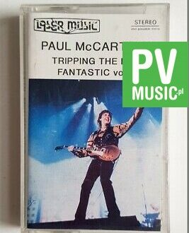 PAUL McCARTNEY TRIPPING THE LIVE FANTASTIC VOL.1 audio cassette