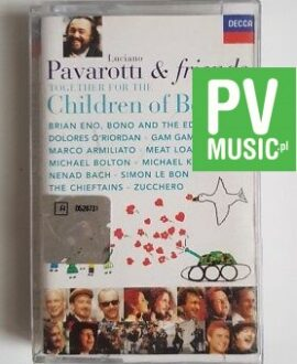 PAVAROTTI AND FRIENDS CHILDREN OF BOSNIA audio cassette