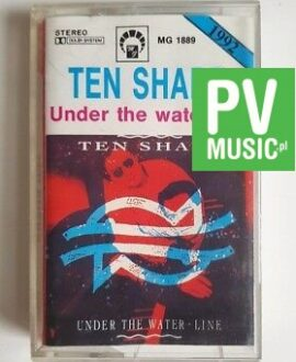 TEN SHARP UNDER THE WATER-LINE audio cassette
