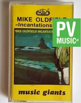 MIKE OLDFIELD INCANTATIONS vol.1 audio cassette