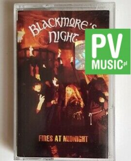 BLACKMORE'S NIGHT FIRES AT MIDNIGHT audio cassette