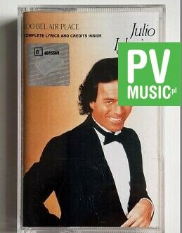 JULIO IGLESIAS 1100 BELL AIR PLACE audio cassette