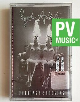 JANE'S ADDICTION NOTHING'S SHOCKING audio cassette