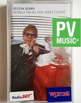 ELTON JOHN SONGS FROM THE WEST COAST audio cassette