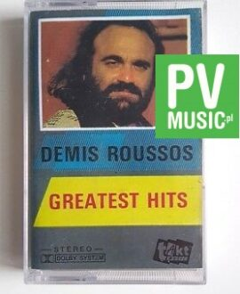 DEMIS ROUSSOS GREATEST HITS audio cassette