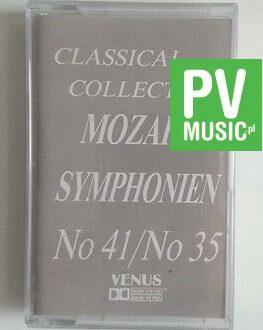 MOZART SYMPHONIEN  No 41, No 35  audio cassette