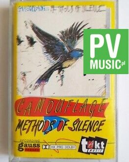 CAMOUFLAGE METHODS OF SILENCE audio cassette