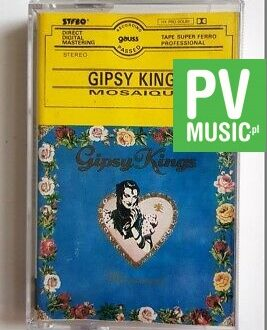 GIPSY KINGS MOSAIQUE audio cassette