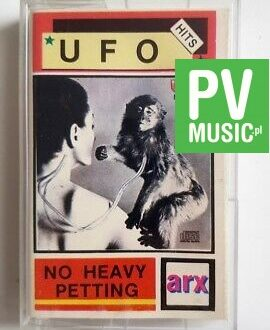 UFO NO HEAVY PETTING audio cassette
