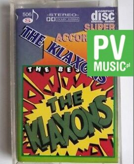 THE KLAXONS THE BEST OF audio cassette