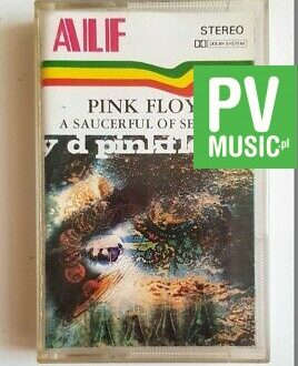 PINK FLOYD A SAUCERFUL OF SECRETS audio cassette