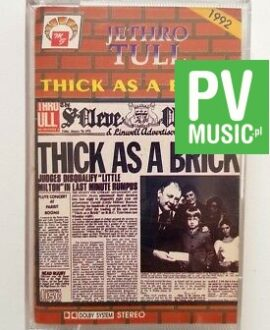 JETHRO TULL THICK AS A BRICK audio cassette