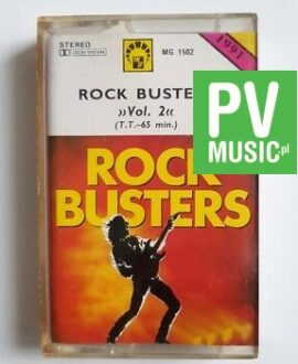 ROCK BUSTERS vol.2 DEEP PURPLE, SCORPIONS.. audio cassette