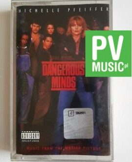 DANGEROUS MINDS SOUNDTRACK audio cassette