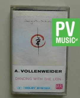 A.VOLLENWEIDER  DANCING WITH THE LION     audio cassette