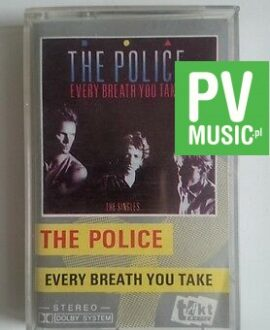 THE POLICE  EVERY BREATH YOU TAKE   audio cassette