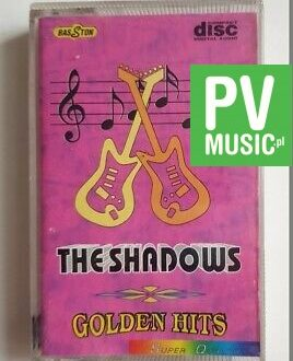 THE SHADOWS GOLDEN HITS audio cassette