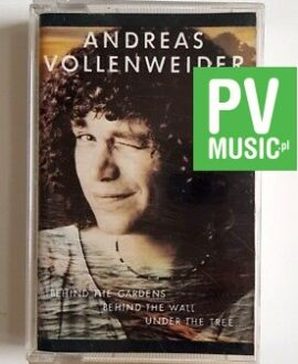 ANDREAS VOLLENWEIDER ...BEHIND THE GARDENS... audio cassette