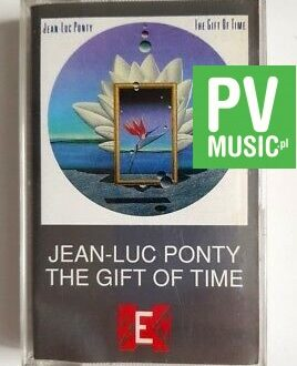JEAN LUC-PONTY THE GIFT OF TIME audio cassette