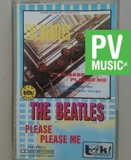 THE BEATLES PLEASE PLEASE ME     audio cassette